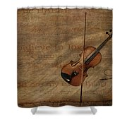 Lovesong Shower Curtain