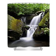 Lower Grotto Falls Shower Curtain