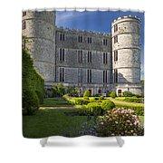 Lulworth Castle Shower Curtain