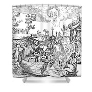 Luther Anniversary, 1617 Shower Curtain