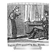 Lydia Darrah, 1777 Shower Curtain