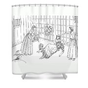 Ma Parker Is Shot Shower Curtain
