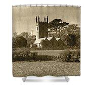 Mabe Church Shower Curtain