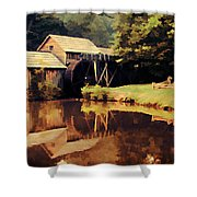 Mabrys Mill Shower Curtain