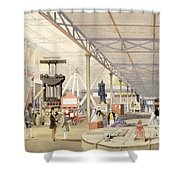 Machinery, From Dickinsons Shower Curtain