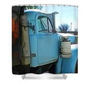 Mack Truck Shower Curtain