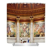 Murals In The Capitol - Madison Shower Curtain