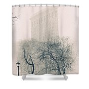Madison Square Park Shower Curtain