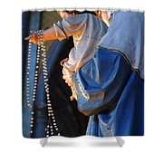 Madonna And Jesus Shower Curtain