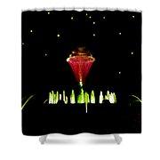 Magical Fountain Shower Curtain