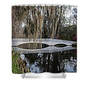 Magnolia Plantation Shower Curtain