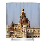 Maharaja's Palace India Mysore Shower Curtain