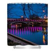 Maidstone Bridge Shower Curtain