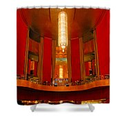 Main Lobby Radio City Music Hall Shower Curtain