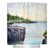 Maine Coast Shower Curtain