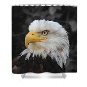 Majestic Eagle Shower Curtain