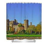 Malahide Castle  Shower Curtain
