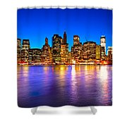 Manhattan - New York City Shower Curtain