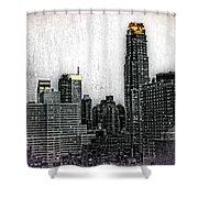 Manhattan View Shower Curtain