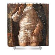 Mantegna's The Infant Savior Shower Curtain