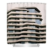 Marco Polo Tower Hamburg Hafencity Shower Curtain