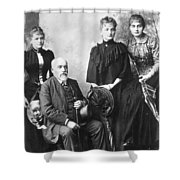 Marie Curie (1867-1934) Shower Curtain