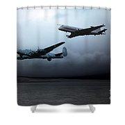 Maritime Reconnaissance Shower Curtain