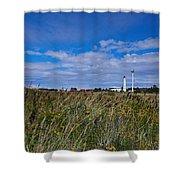 Marjaniemi Lighthouse Shower Curtain