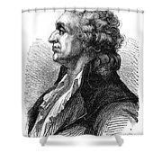 Marquis De Condorcet (1743-1794) Shower Curtain