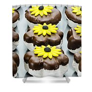 Marshmallow Cookies  Shower Curtain