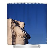 Martin Luther King Memorial Shower Curtain