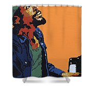 Marvin Gaye Shower Curtain