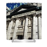 Mary Queen Of The World Cathedral Shower Curtain