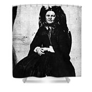 Mary Todd Lincoln (1818-1882) Shower Curtain