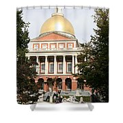 Massachusetts State House - Boston  Shower Curtain