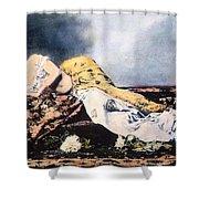 Mata Hari (1876-1917) Shower Curtain