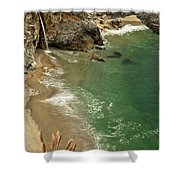 Mcway Falls Shower Curtain by Adam Jewell
