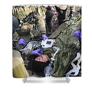 Medics Of The British Special Forces Shower Curtain