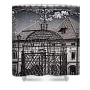 Medieval Cage Of Shame Shower Curtain