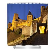 Medieval Carcassonne Shower Curtain