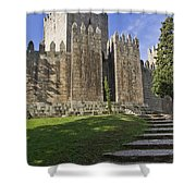 Medieval Castle Keep Shower Curtain