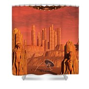 Members Of The Planets Advanced Shower Curtain
