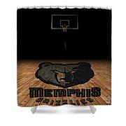 Memphis Grizzlies Shower Curtain