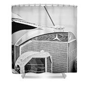 Mercedes-benz Grille Shower Curtain