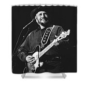 Merle Haggard Shower Curtain