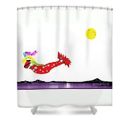 Mermaid 2 Shower Curtain