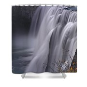 Mesa Falls Shower Curtain by Raymond Salani III