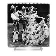 Mexican Folk Dance Shower Curtain