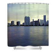 Miami Downtown Shower Curtain