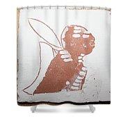 Micah - Tile Shower Curtain